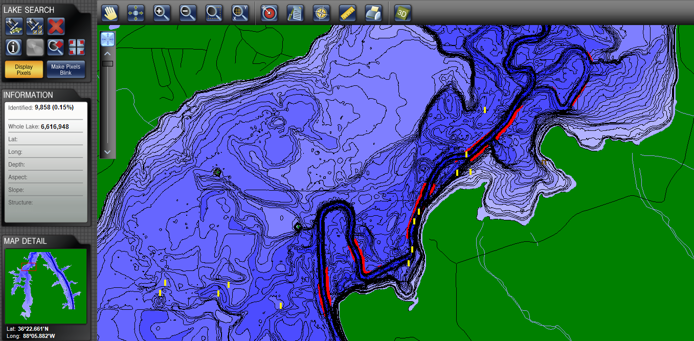 CONTOUR ELITE Fishing Software Find More Fish - Lake mapping software